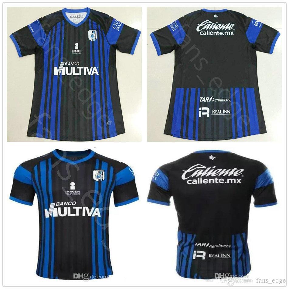 2018 2019 Mexico Club Queretaro FC Camisetas De Fútbol Camilo Sanvezzo  Gomez Triho Jaime Noriega Bornstein Inicio Black Custom 18 19 Football  Shirt Por ... 976286770d39b