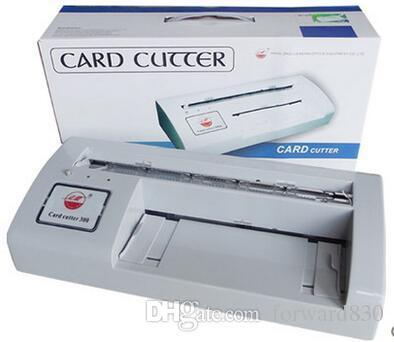 Acheter Decoupeuse Automatique De Carte Nominative 300B Visite Taille A4 Coupeur 90x54mm 21508 Du