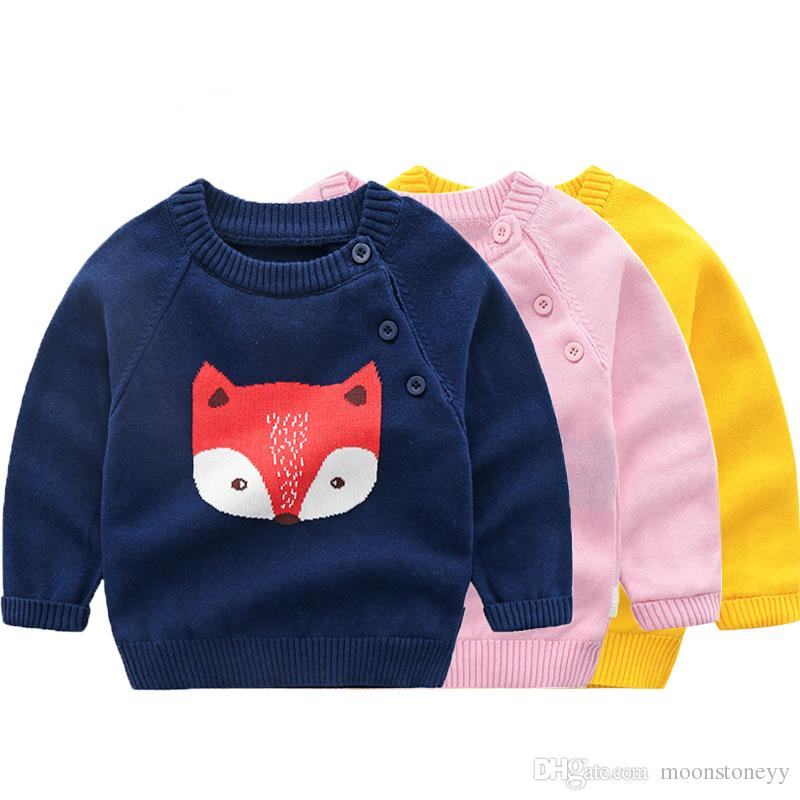 b826c72c354 Children s Sweater Baby Girl Winter Wear Jersey for Boy Pullover Knitted  Clothes Little Girl Winter Newborn Baby Boy Clothing