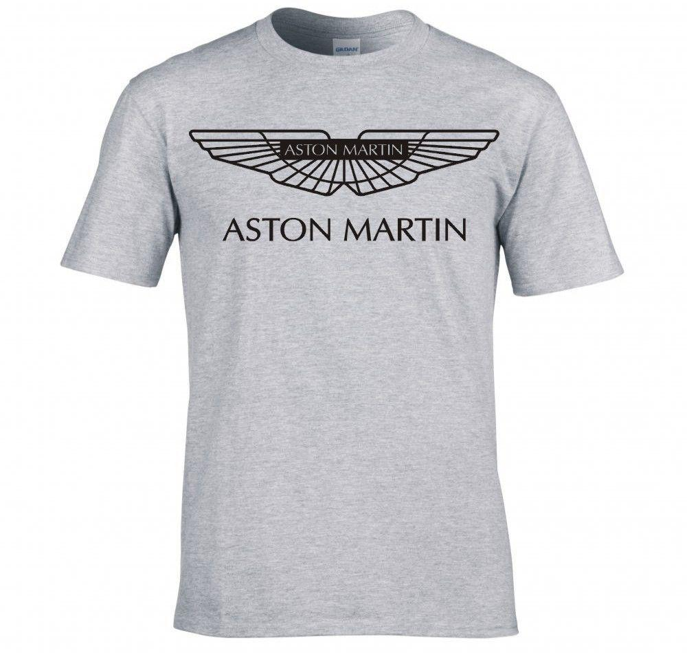 new arrived men t shirt aston martin logo t shirt male top tees