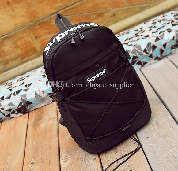 Fashion Brand Sup Backpack Double Shoulder Bag Luxury Outdoor ... af104724fa0ea