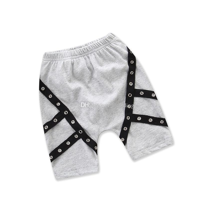 Baby boys Hip-hop shorts 2018 summer INS children Casual shorts Boutique kids Clothing C4080