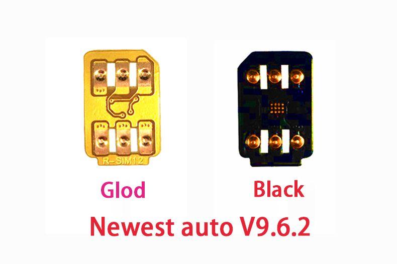 newest Original V9 6 2 R sim 12 rsim12 rsim sim12 ios 11 3 ICCID Unlocking  X,iphone 8,8PLUS 7 4G Telcel ,Telmex,Movistar,SKT