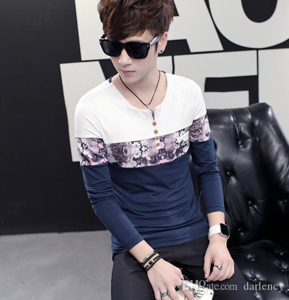 2018 Spring And Summer Men S Korean Version Of The Men S T Shirts