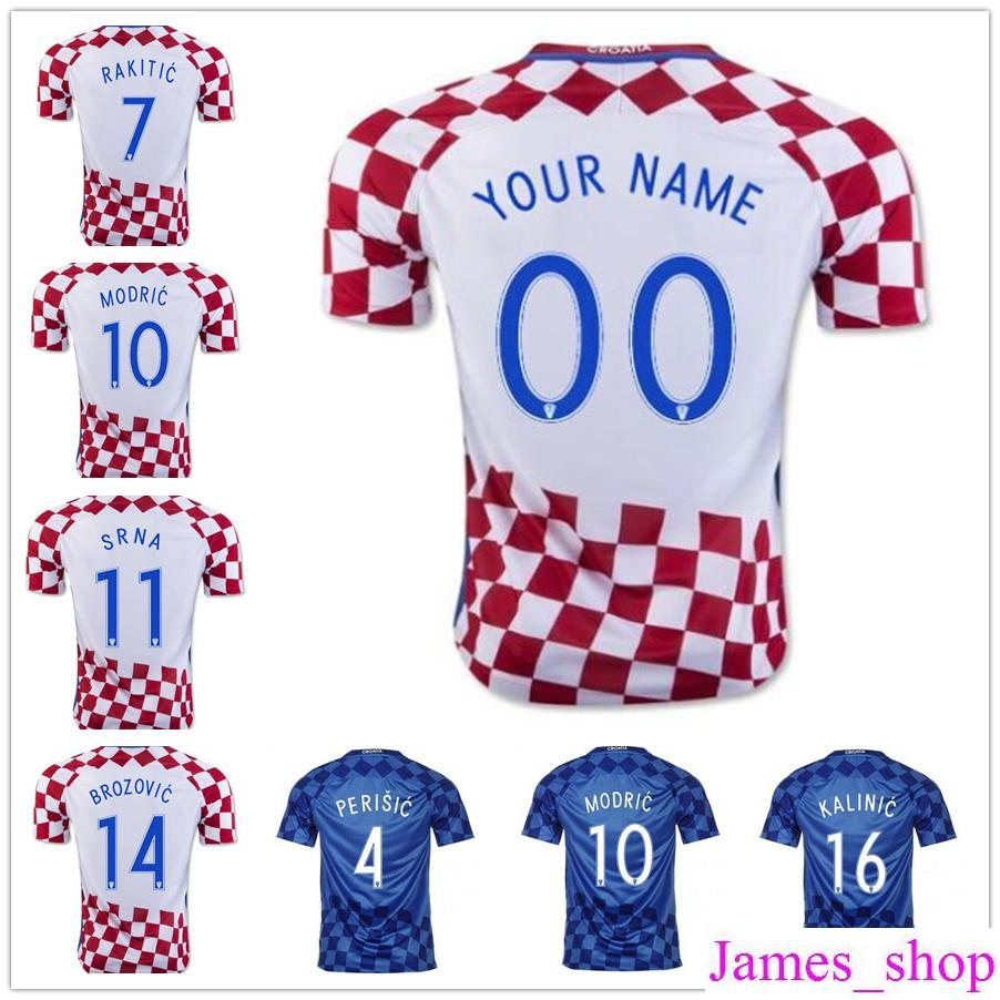 1705df70071 ... greece croatia 7 irakitic home youth kids child short sleeves 2016 2017  country national team soccer