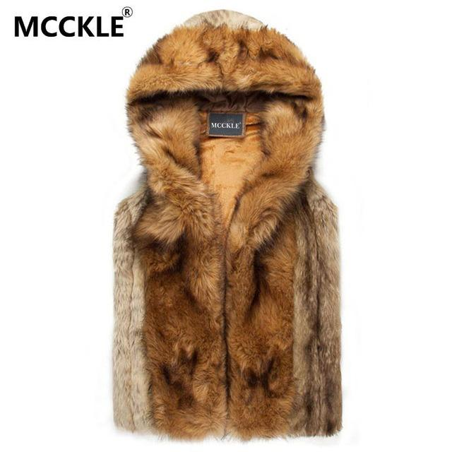 5b8a7ae544f2b 2019 2018 Winter Warm Mens Fur Vest Fashion Hooded Sleeveless Coat For Men  Faux Fur Vest For Youth Plus Size Xxxl AM007 From Bailanh