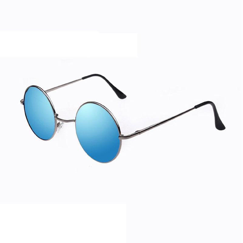 2018 Classic Brand Designer round sunglasses for women men Fashion popular metal Round sun glasses unisex retro vintage glasses for travel