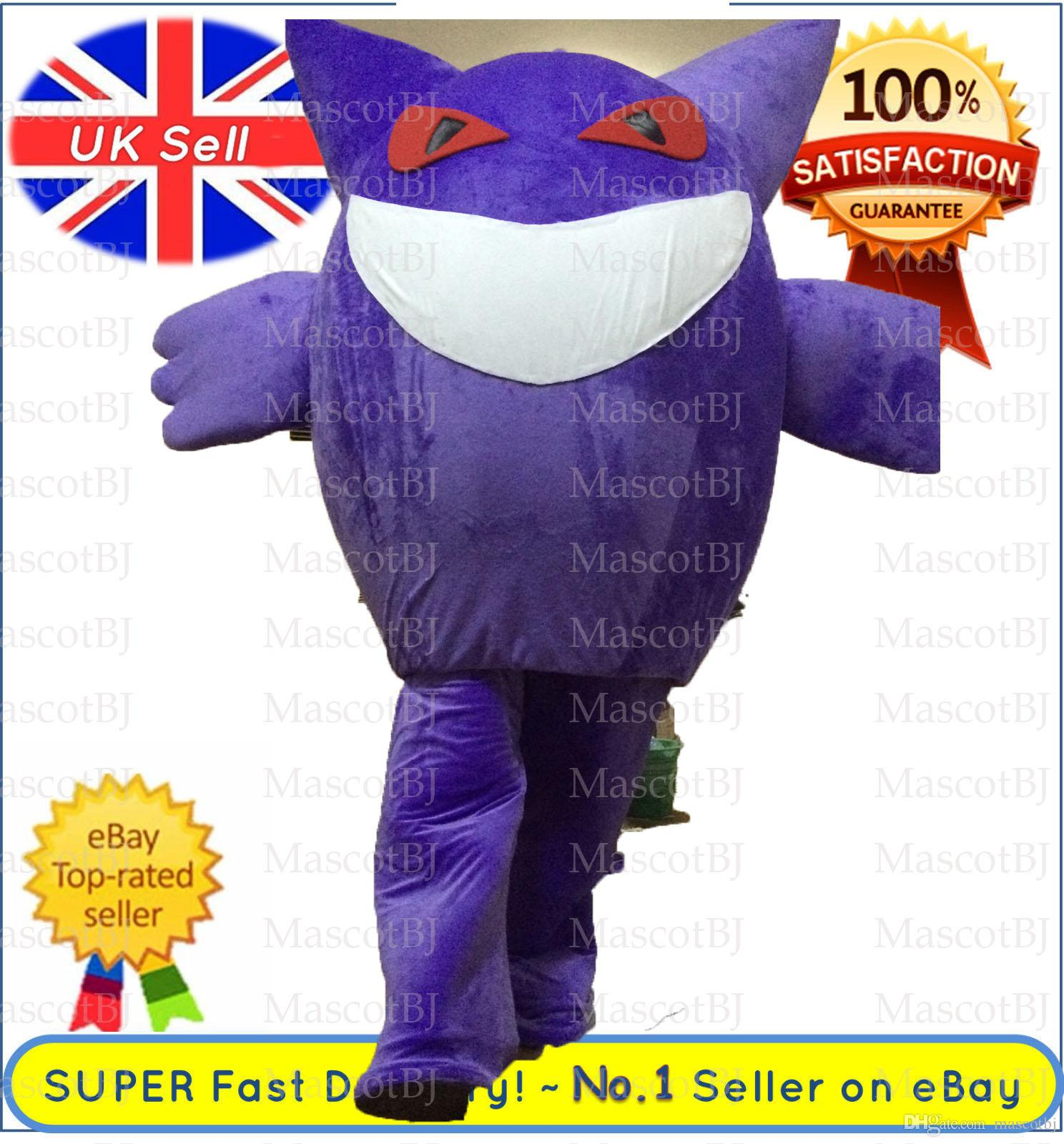 Gengar Pokemons Pikachu Hot Mascot Costume Complete 001 Outfit Rental Mascot Costumes College Mascot Costume From Mascotbj $1.0| Dhgate.Com  sc 1 st  DHgate.com & Gengar Pokemons Pikachu Hot Mascot Costume Complete 001 Outfit ...