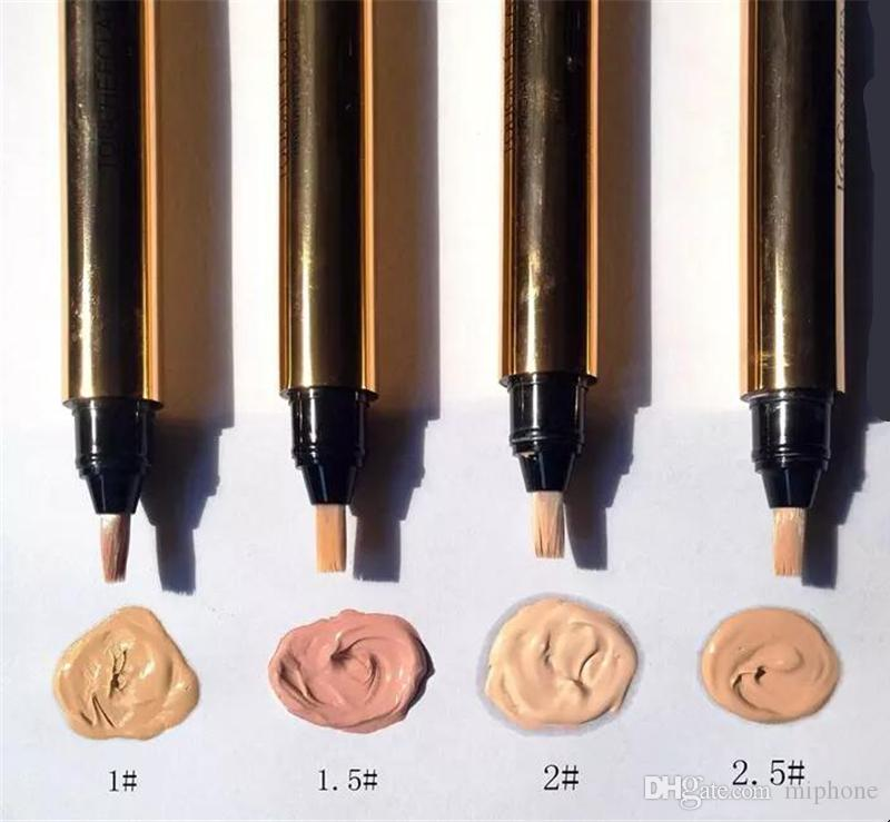 Touche Eclat Radiant Touch Concealer для макияжа, маскирующее карандаши, 2,5 мл. Марка Cosmetic 4, цвет 2,5 # 2 # 1,5 # 1 #