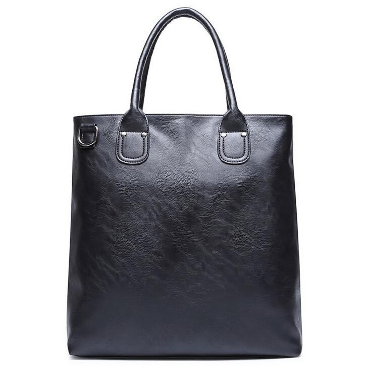 Stacy Bag 122415 Hot Sale Man Handbag Male Large Tote Men Big Simple Top  Handles Leather Purses Cheap Designer Handbags From Drdre f2adf2ee18887