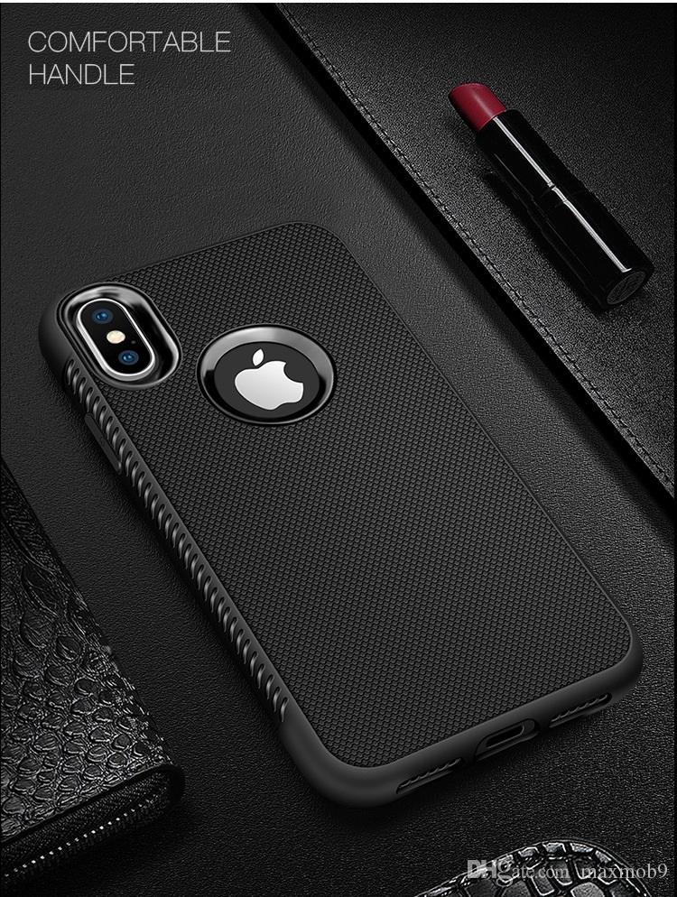 Nuovo Iphone 11 PRO XR XS MAX X 6S 7 8 più cassa del telefono TPU delle cellule del silicone gomma copertura sottile di Samsung S8 S9 S10 più nota 8 9 lusso