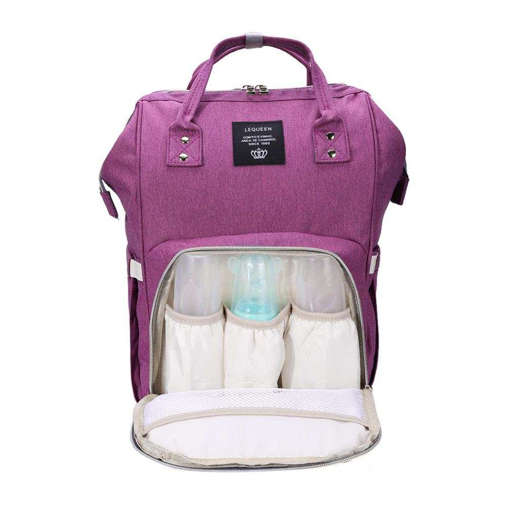 6e11aa4d07 2019 2019 Fashion Mummy Maternity Bag Backpack Multi Function Diaper Bag  Backpack Nappy Baby With Stroller Straps For Baby Care From Ferdimand, ...