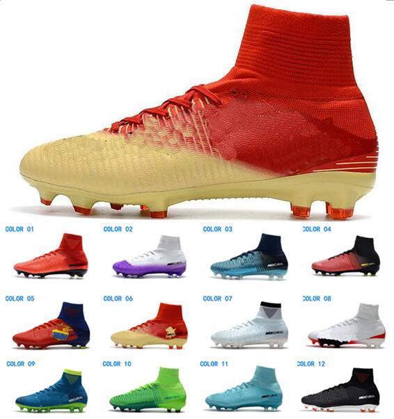 Nike Mercurial Superfly V SX Neymar AG Männer Fußballschuh Cristiano Ronaldo FG Fußballschuhe CR7 Fußballschuhe ACC Fußballschuhe