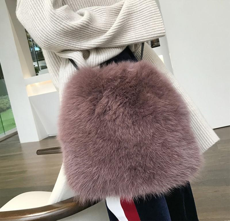 2017 Winter Soft Faux Fur Bag Small Fashion Women Fur Tote Bag Warm Plush  Handbag Ladies Crossbody Shoulder Bag Luxury Messenger D18101303 Leather  Bags For ... 5fb8c1fa8318c