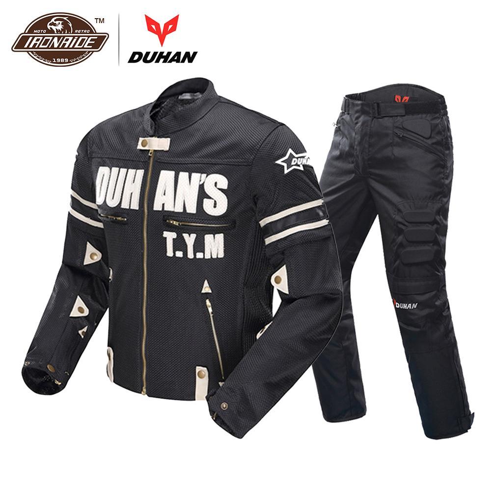 Acheter Moto Duhan Mesh Costume Hommes Racing Respirant D'été Veste 6ZrnHx6v