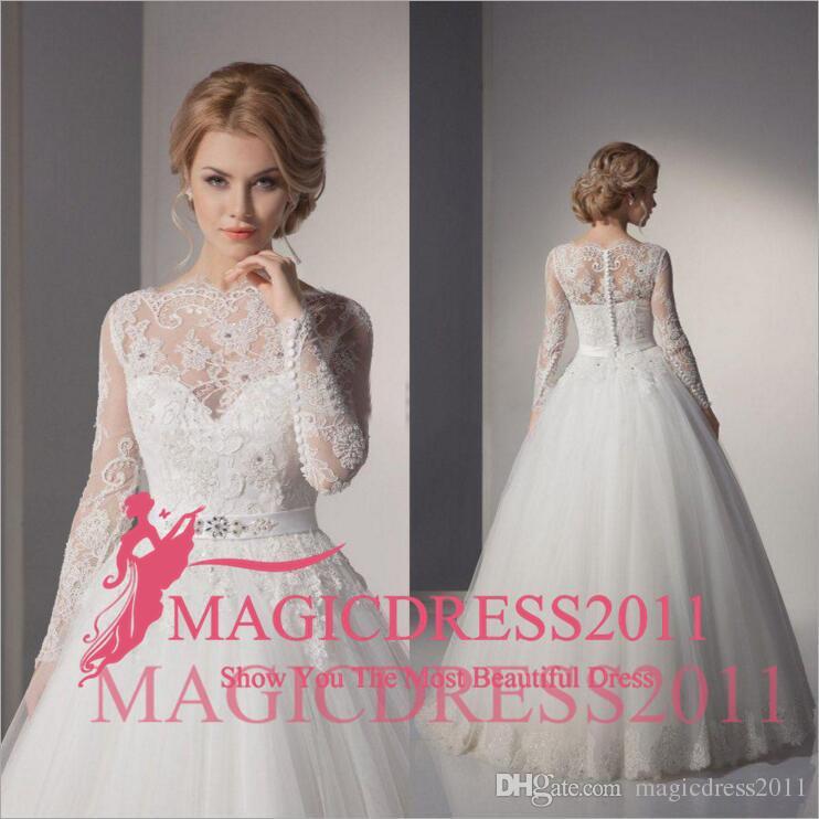 7cde87f9c0 Discount 2018 Sexy Lace Ball Gown China Wedding Dresses 2015 A Line Lace Wedding  Gowns Romantic Plus Size Vintage Cheap Vestido De Noiva A Line Wedding ...