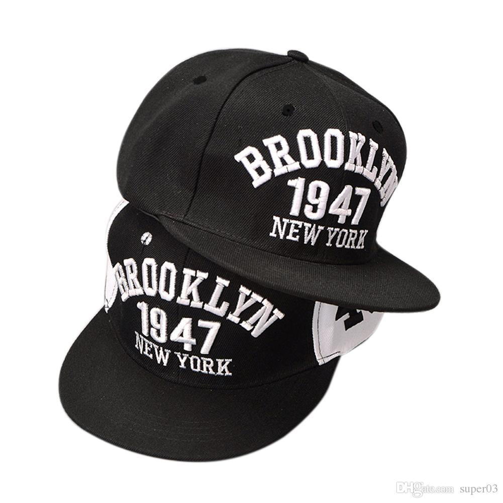 Black White Number Brim Adjustable Baseball Snapback Hats For Men And Women  Hip Hop Cotton Mens Womens Sun Cap DM 6 Big Hats Hat Stores From Super03 6998adf70