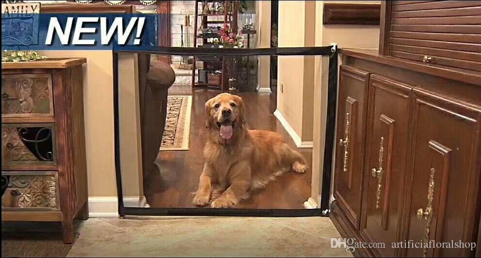 2019 Dog Barrier Safety Fence Magic Gate Dog Isolation Net