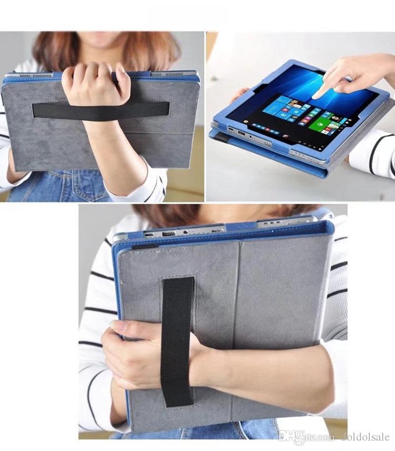 레노버 Miix 520 / Miix 510 태블릿 핸드 스트랩 + 클리어 스크린 프로텍터가있는 꽃 PU 가죽 커버 스탠드 포함 인쇄
