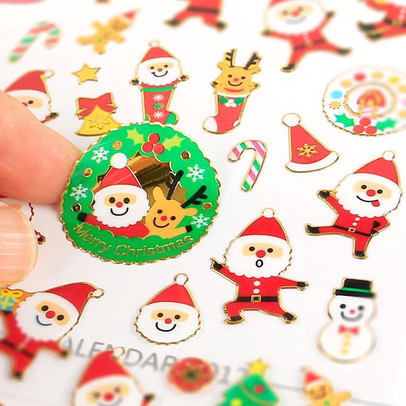 Kindergarten Weihnachten.Diy Weihnachten Cartoon Aufkleber Weihnachtsmann Wandaufkleber Weihnachtsbaum Schneemann Geschenk Paster Kindergarten Belohnung Für Kinder Kinder Pvc