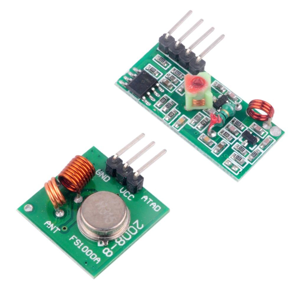 315MHz RF Transmitter Receiver Module Kit for Arduino MCU