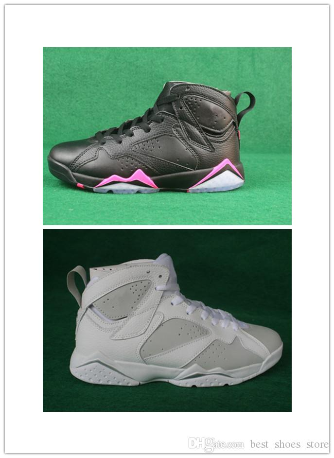 New design high quality 7 women Hyper Pink basketball shoes Wholesale 7s VII Pure Money sports sneakers 23 with box size 7-13