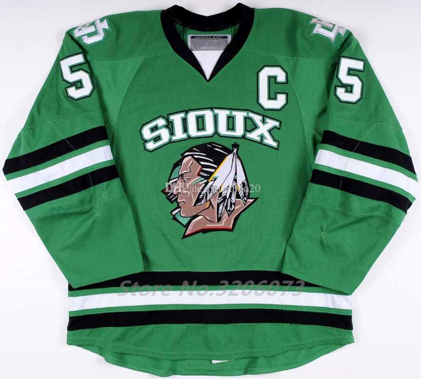 2019 North Dakota Fighting Sioux University  5 Chay Genoway 2010 11 Ice Hockey  Jersey Mens Stitched Custom Any Number And Name From Abao20 435331279