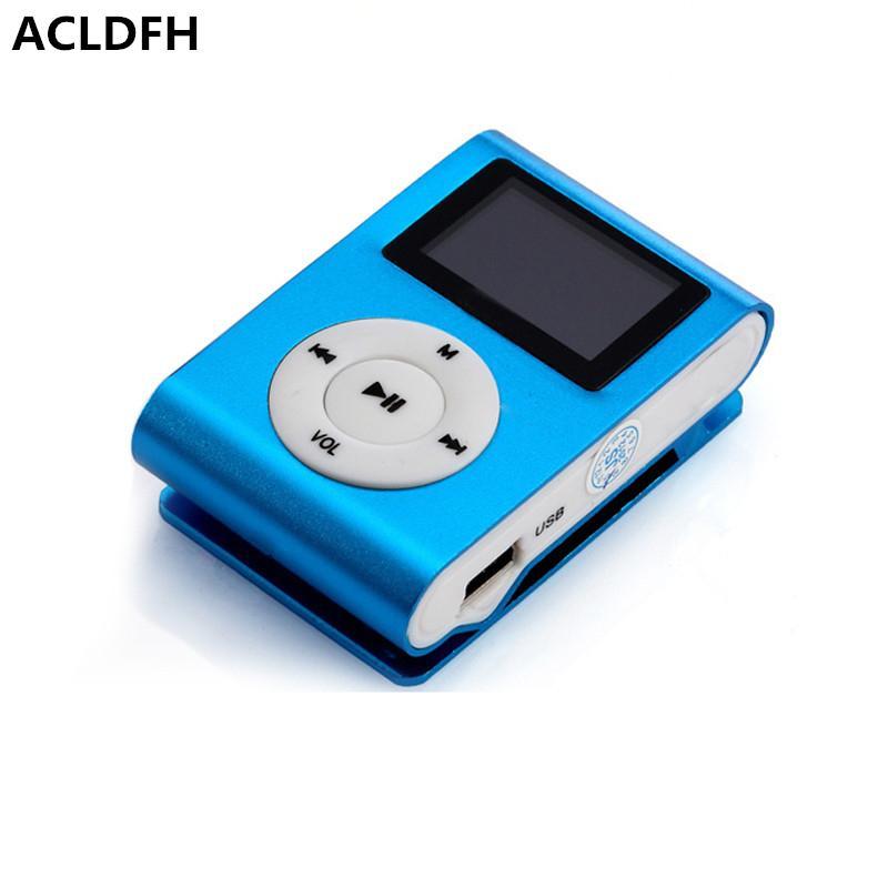 6822bb834 Compre Reproductor De Mp3 Mini Lettore Pantalla Lcd Mp3 Mp 3 Música Musica  Clip Reproductor Niños Speler Aux Usb Deporte Digital Led Jugadores Audio A  $2.29 ...