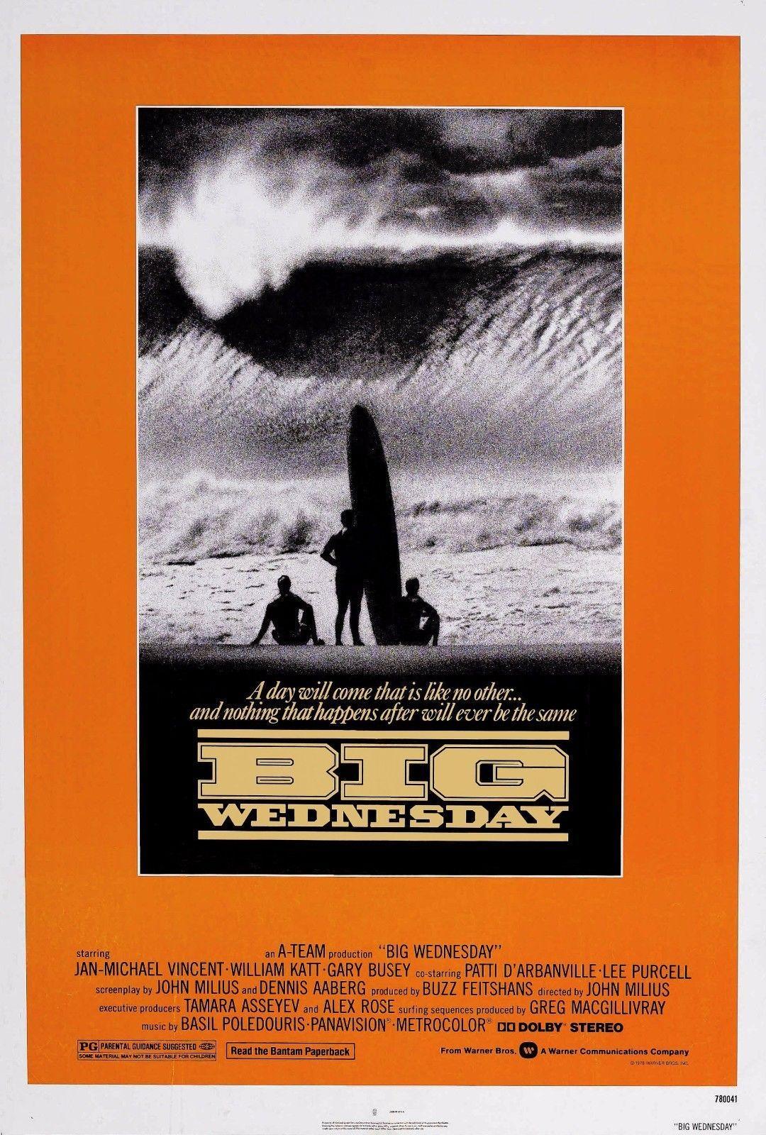 Großhandel Big Wednesday Film Art Silk Poster 20x30 24x36 24x43 Von