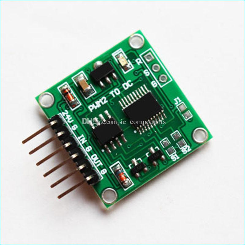 PWM to DC Voltage Converter Module PWM to 0-5V 0-10V Converter Circuit  Board PWM to Analog Linear Conversion Converter Small Size