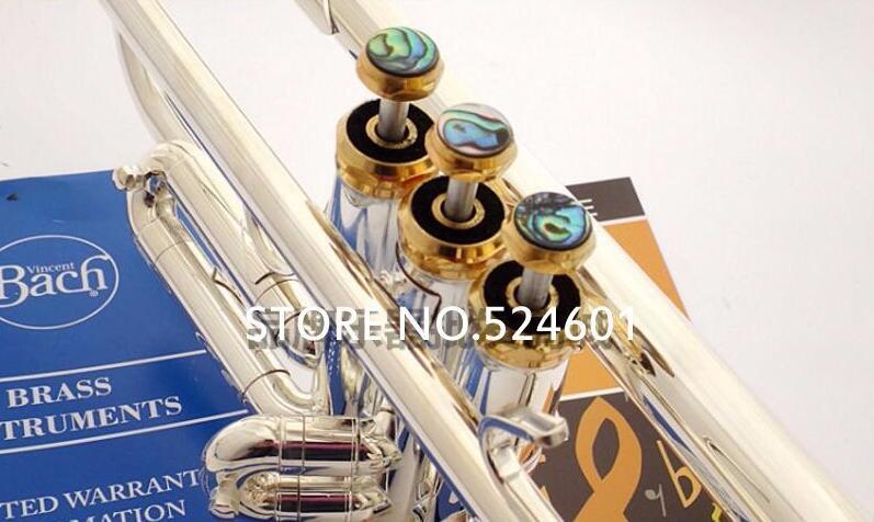 Nueva Llegada Válvula de Trompeta Dedo Botones Piezas de Reparación 3 / Piezas Accesorios Trompeta Color Plata y Color Oro