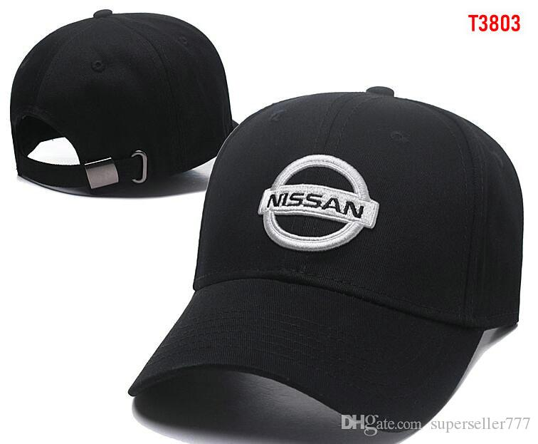 43b8b0b9d65 2019 2018 New Gorras Nissan Hat Cotton Embroidery F1 Racing Cotton Baseball  Adjustable Golf Cap Car Hats For Women Men Summer Bone Casquette From ...