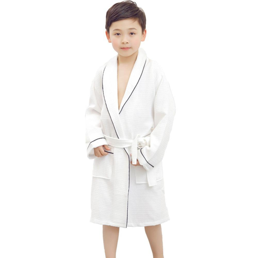 3b06ee27b Children Hooded Bathrobe Towel Kids Boys Girls Cotton Lovely Robes ...