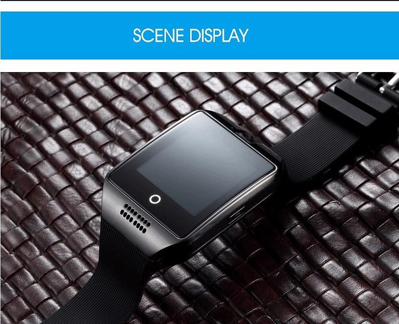 LK18 Bluetooth Smart Watch With Camera facebook Sync SMS MP3 WristWatch  Support Sim TF For IOS Android Phone pk GT08 DZ09
