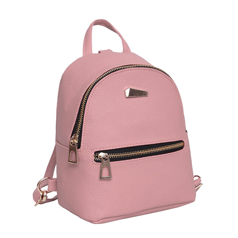 Fashion Women Mini Backpack PU Leather College Shoulder Satchel School  Rucksack Ladies Girls Casual Travel Bag WML99 Backpacks For Teens Cheap  Backpacks ... 4c1881654e