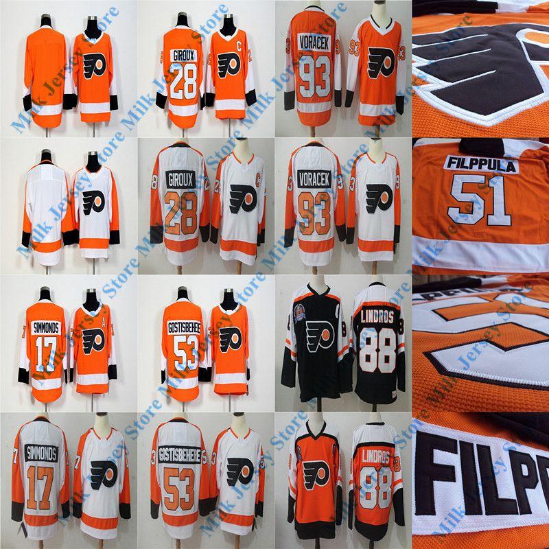 half off 90807 2cebf nhl jerseys philadelphia flyers 17 wayne simmonds orange jerseys