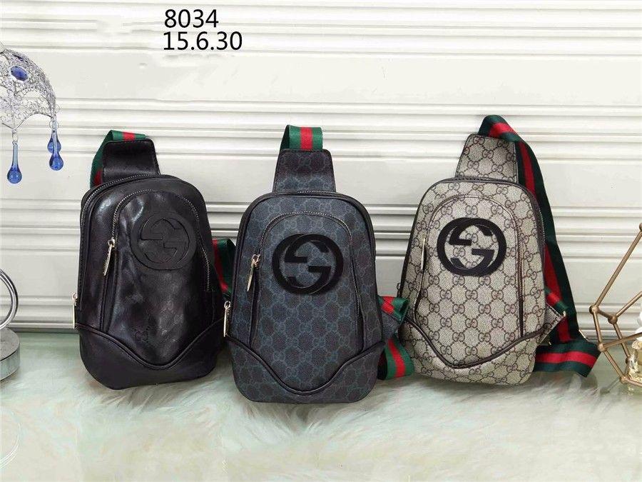 Men Fashion Chest Bag Sling Bag Large Capacity Handbag Crossbody ... 7959efe6b2ea1