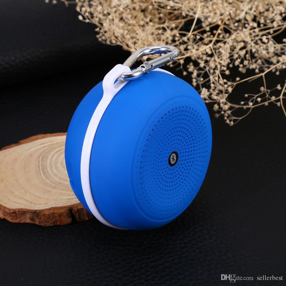 Portátil mini Bluetooth altavoz Soporte manos libres función de la tarjeta del TF estéreo bajo pesado altavoz iPhone Mini altavoces para