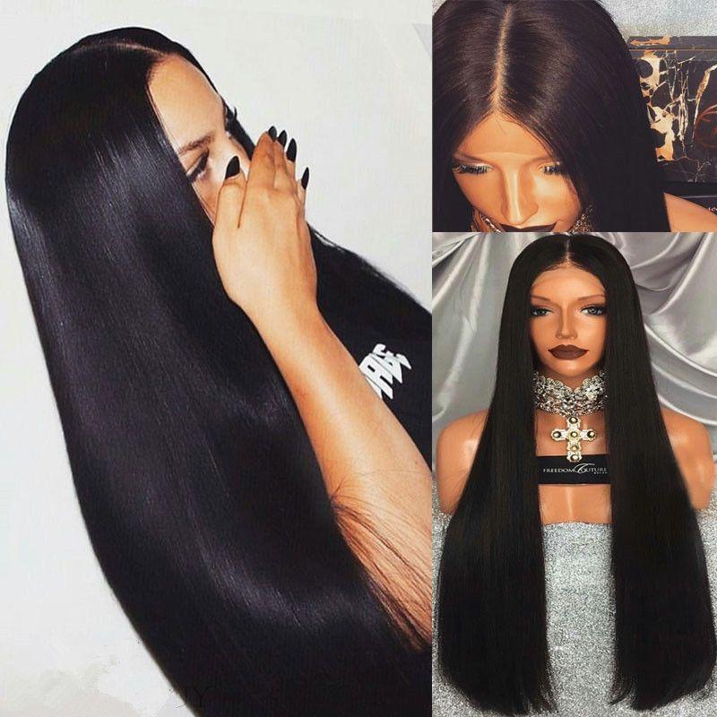 Acheter Femme Longue Chevelure Droite Avant