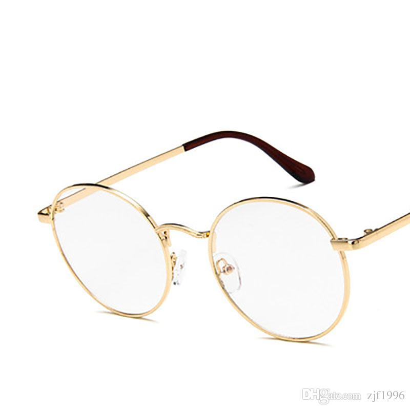 fcce0f3c3b Round Spectacle Glasses Frames For Harry Potter Glasses With Clear Glass  Women Men Myopia Optical Transparent Glasses Glasses For Men Mens Eyeglasses  From ...