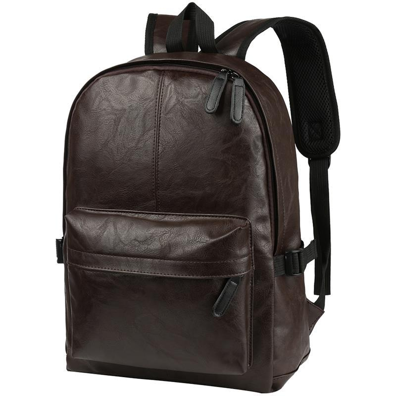 6f918a14287c Vbiger Men Travel Backpack PU Leather School Bags Multi-purpose Laptop  Shoulders Bag Chic Outdoor Daypack Backpacks Cheap Backpacks Vbiger Men  Travel ...