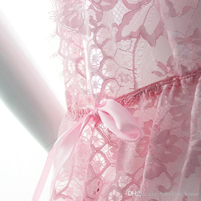 Newest Pregnant Photography Props V-Neck Dress Fancy Pregnancy Photo Shoot Studio Clothing Lace Gown Dress