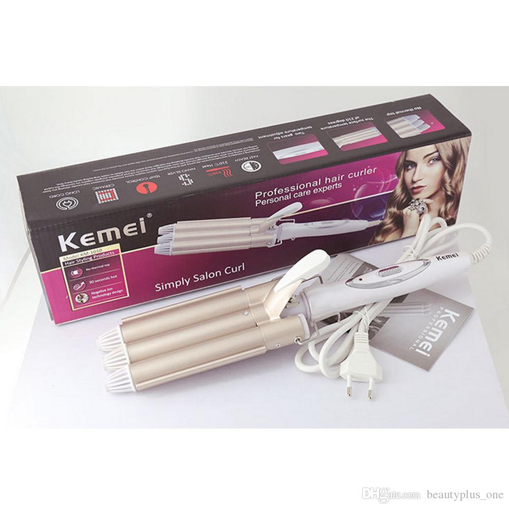 Professional Hair Curling Iron Ceramic Triple Barrel Hair Curler Irons Hair Wave Waver Styling Tools Hairs Styler Wand