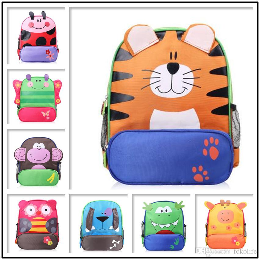 49bdbfd72346 Children Kids Shoulder Bags Boys Grils Cute Cartoon Animals Backpacks Hand  Bags Kids School Bags Baby Kids Satchel Bag 8 Style Buy Backpacks Online  Backpack ...