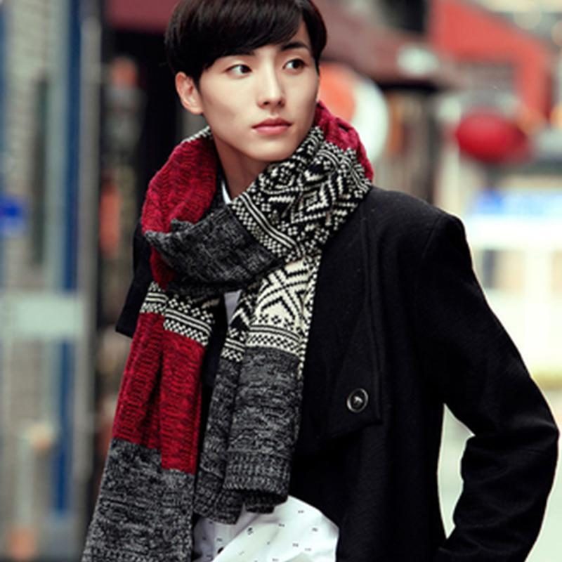 3f3f1f251b32 Осень и зима корейской молодежи толстый теплый дикий длинный абзац студенты  ...