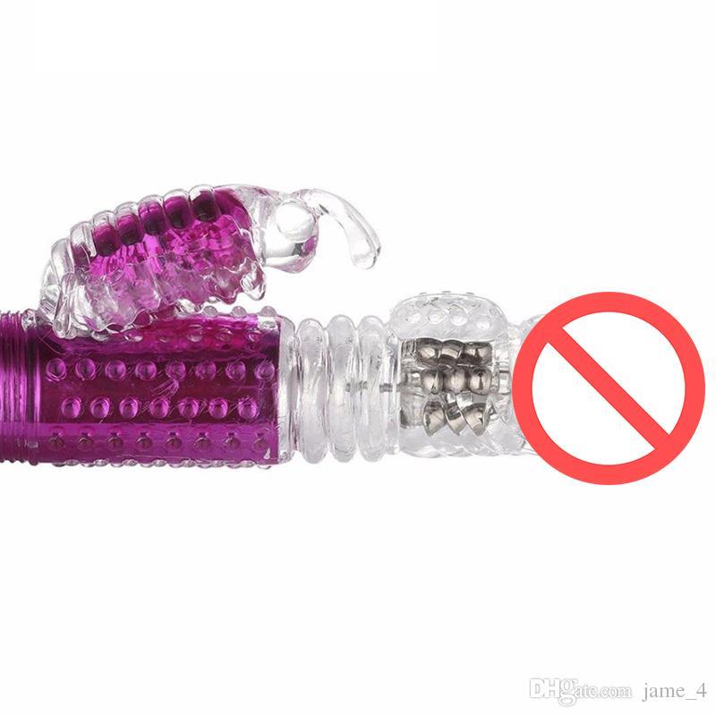 USB аккумуляторная G Spot вибратор фаллоимитатор вращения бабочка Кролик вибратор гибкие силиконовые тела массаж клитор стимуляция секс-игрушки для Wo