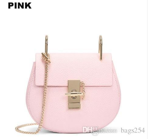 Hot Sale Popular Fashion Brand Design Women Genuine Leather Cloe Bag High  Quality Real Cowskin Shoulder Bag Small Chain Bag Black Handbag Fashion  Bags From ... d0535c24dbb57