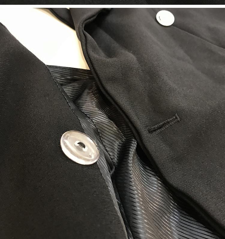 Lange Weste Frauen Sleeveless Jacke Anzug Mantel Damen Sexy Backless Schlank Zweireiher Weste Veste Femme Weste Chalecos Mujer