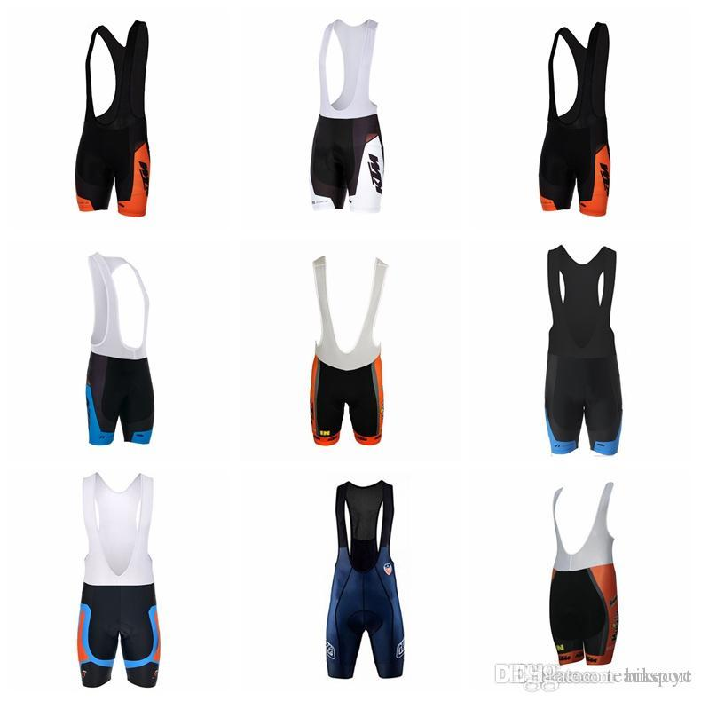 660b156ded9 KTM Team Cycling Bib Shorts Pants Wholesale-specails Breathable Men Mountain  Bike   Fast Dry Mountain Sportswear   Bibs Pants 841709 KTM Cycling Jersey  ...