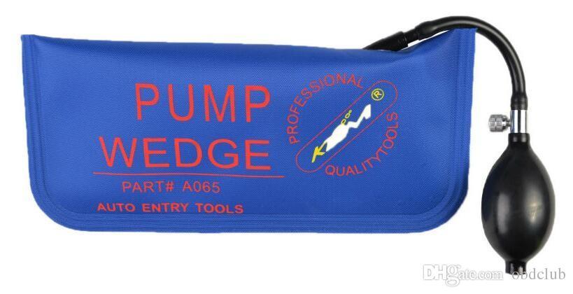KLOM Universal Air Wedge Auto PUMP WEDGE Lock Pick Set Open Car Door Lock Small Medium Large U Shape Size